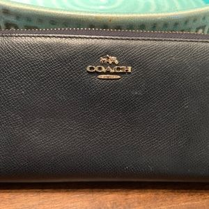 Coach Wallet (Blue)
